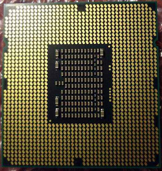 Xeon W3690 Bottom