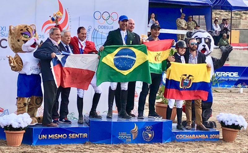 Brasil é ouro no hipismo nos Jogos Sul Americanos Odesur 2018