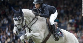 Laura Kraut, a former Olympic show jumping