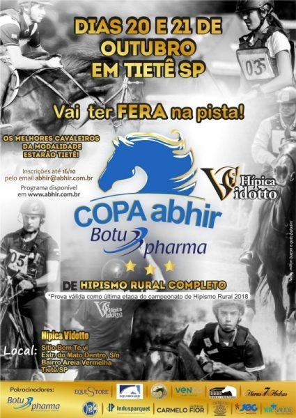Copa ABHIR Botupharma de Hipismo Rural Completo