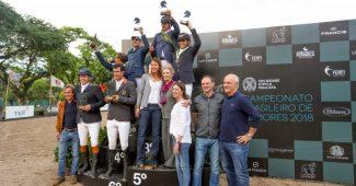 Vencedores do Brasileiro Senior Top (Luis Ruas)