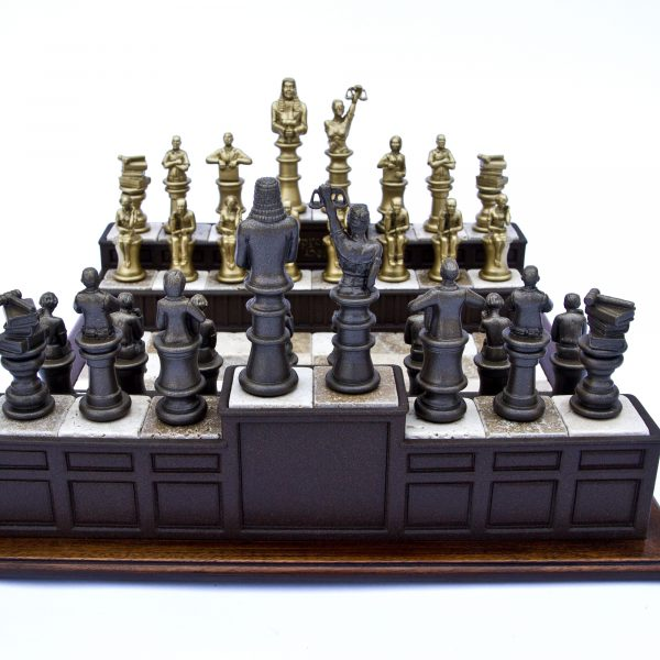 Superior Chess Set Approach The Bench