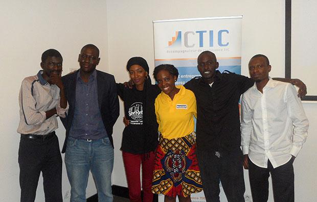 Le panel des 6 promoteurs de site de e-commerce au Sénégal