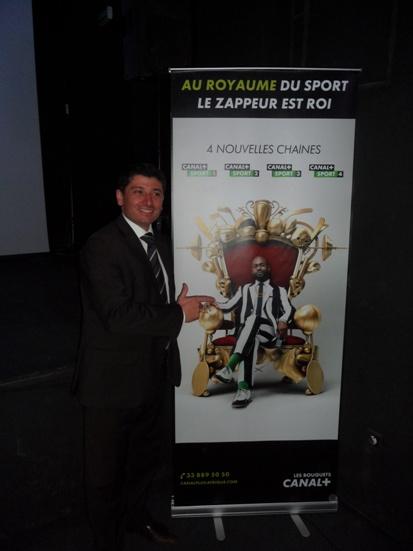 Sébastien Punterllo, DG Canal+ Sénégal