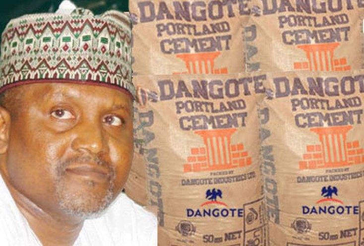 le magnat du ciment et ses sacs sortis d'usine