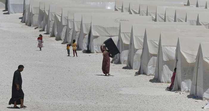 Camp de réfugiés syriens en Turquie