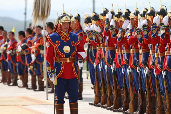 There is little trace of Cactar, but we could imagine him as this members of the Mongolian Armed Forces Honorary Guard