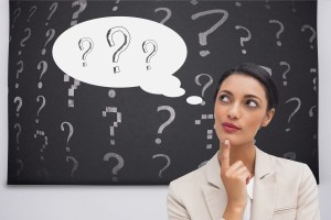 woman with questions - What Are CUI and CDI? (And Why Should You Care?)