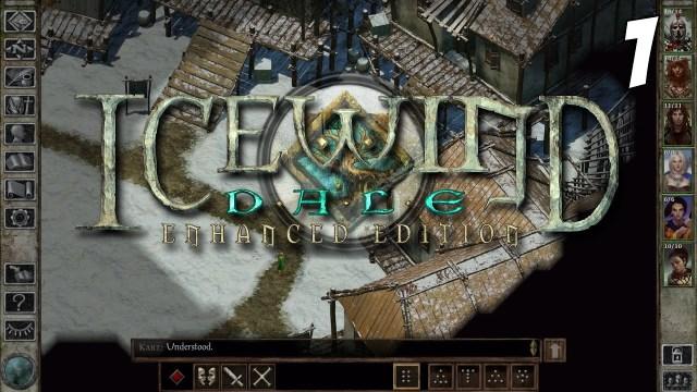 Let's Play Icewind Dale: Enhanced Edition Gameplay #1 - Hrothgar - Playthrough Walkthrough PC HD - YouTube