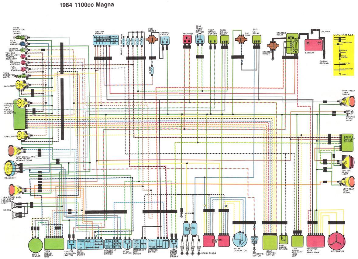 1984 1100cc Magna Wiring Diagram?resize\=665%2C482\&ssl\=1 1981 yamaha virago 750 wiring diagram wiring diagrams wiring 1985 yamaha virago 1000 wiring diagram at crackthecode.co
