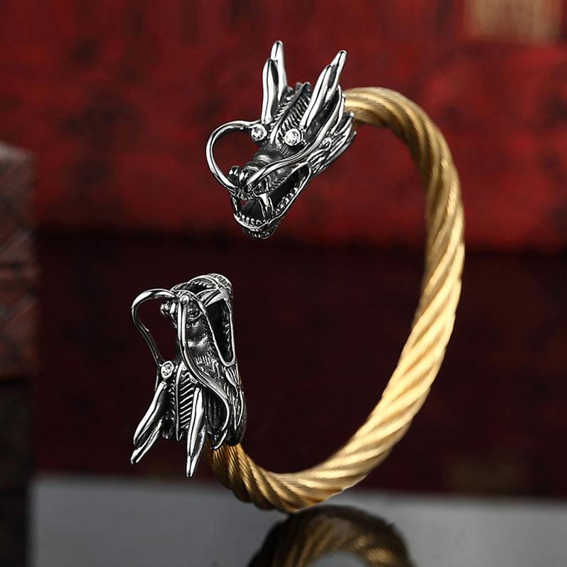 Vikings Dragon Bracelet