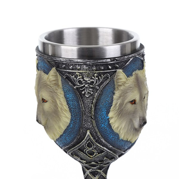 Ghost - Jon Snow's Direwolf Wine Glass