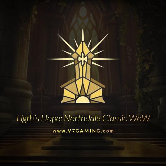 Light's Hope Northdale Account Horde / Alliance Level 60, 30, 40
