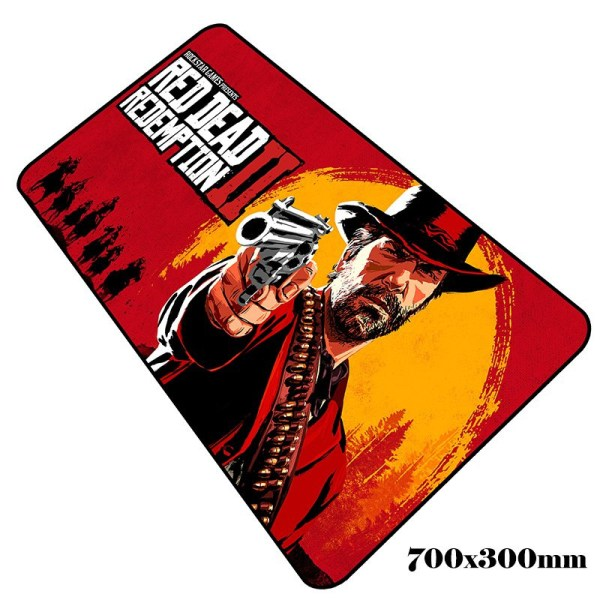 rdr2 mouse pad