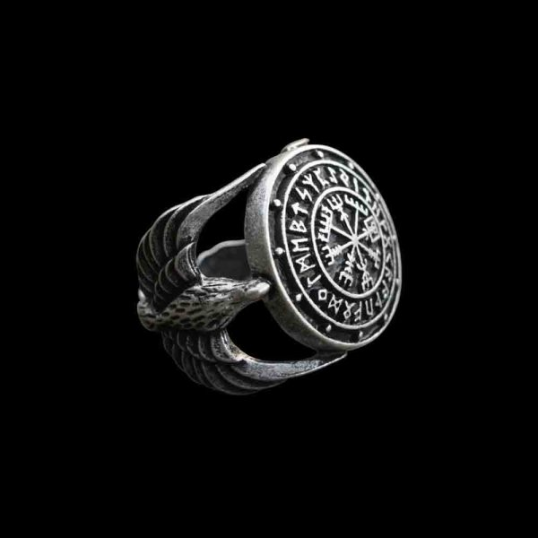 Viking Compass Ring Vegvisir