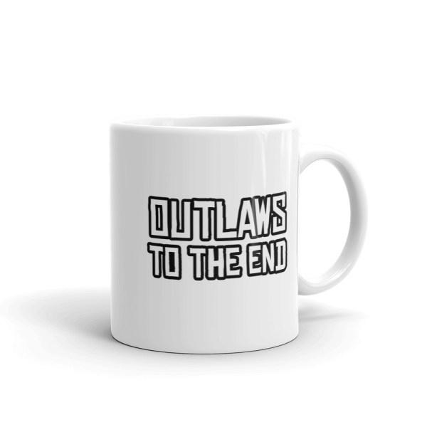 Outlaws To The End Mug 11oz