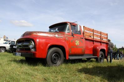 Mit so einem Truck würde man doch gerne jeden Tag Auslieferungsfahrten unternehmen.