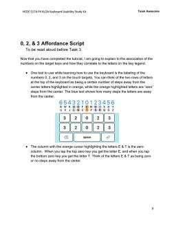 KLOA Usability Study Kit Affordance Script 1