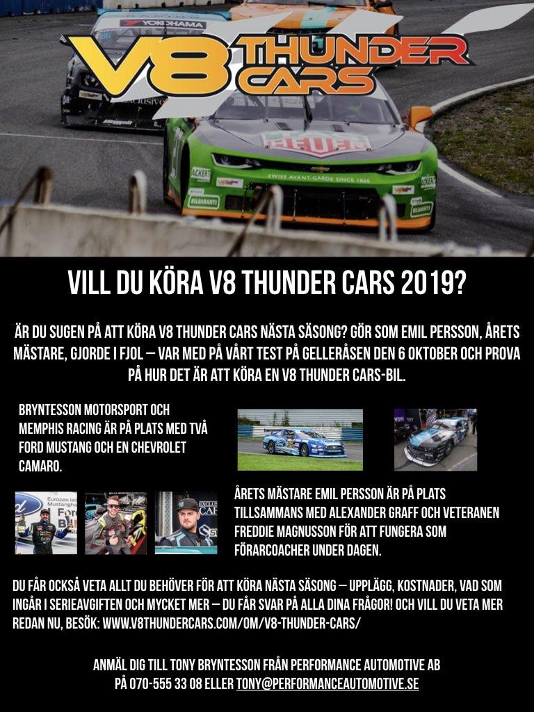 Testa V8 Thunder Cars