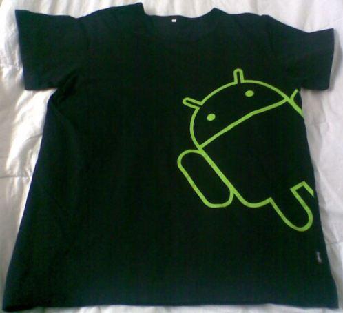 秀一下Android T恤~