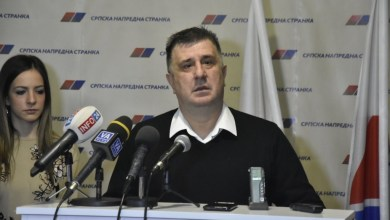 Photo of Dr Slobodan Gvozdenović Predsednik SNS GO Valjeva održao je danas konferenciju za novinare u prostorijama Stranke!