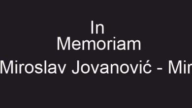 Photo of IN MEMORIAN Miroslav Jovanovic saopstenje Kolektiva Krusika