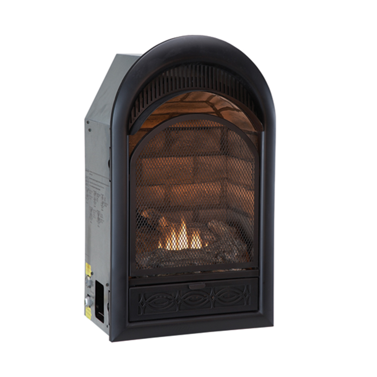 Ventless Dual Fuel Fireplace Insert