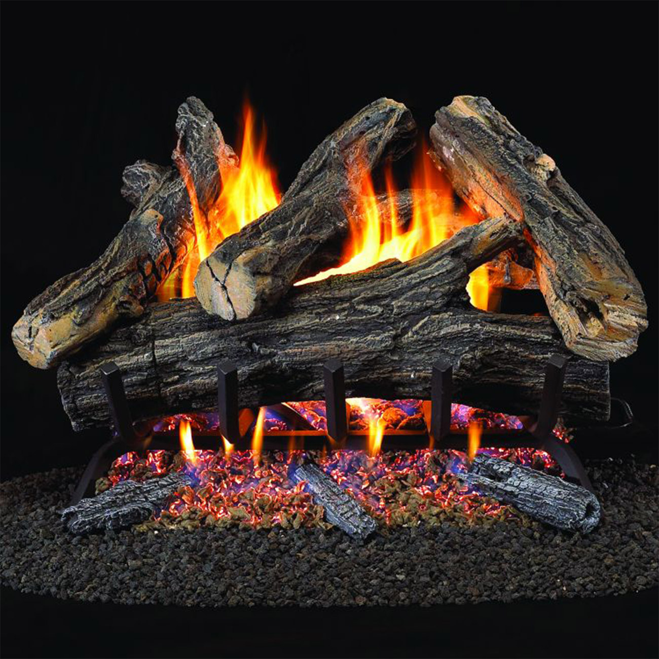 24 Vented Natural Gas Log Set