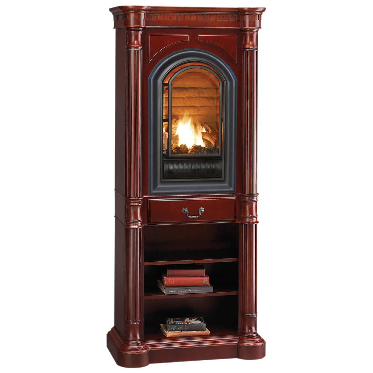 Hearth Sense Tower Mantel And Base Instructions Model At