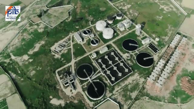 namami gange sewage treatment plants