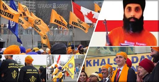 trudeau supporting khalistan terrorists