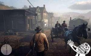 Как убрать курсор мыши в Red Dead Redemption 2