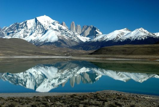 Lago en Patagonia