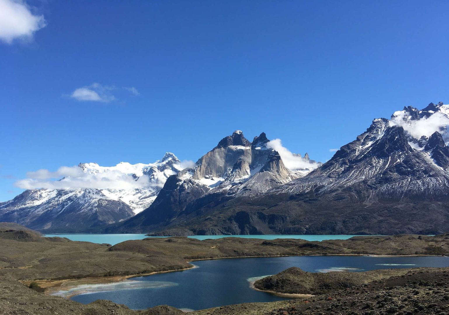 Vista de Torres del Paine, Chile