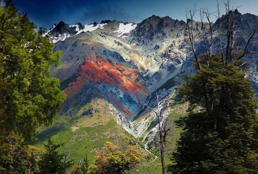 Bariloche en la patagonia Argentina