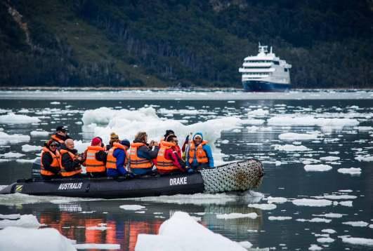 Crucero Australis - Argentina y Chile