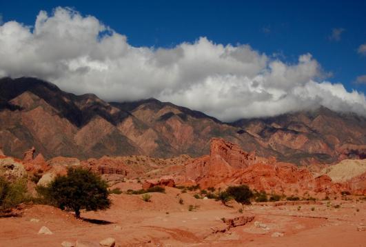 Paisaje de Salta, en el norte de Argentina
