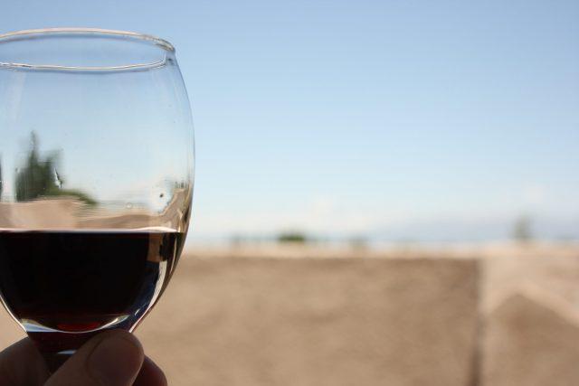 Beber vino de calidad