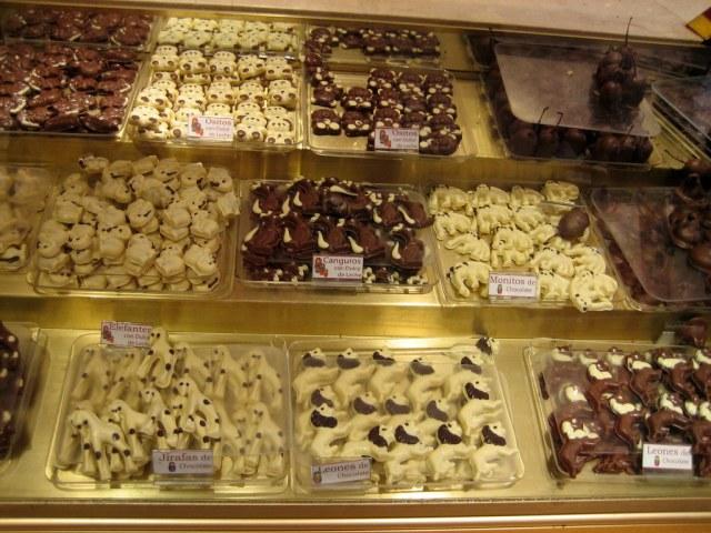 Chocolate bien establecido Mamuschka