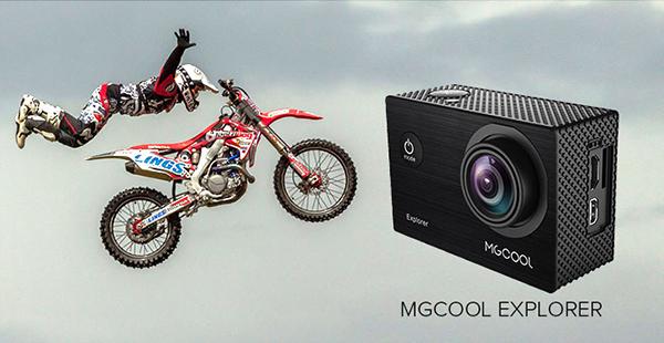 Cámara de acción MGCOOL Explorer 4K