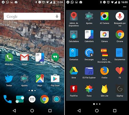 Iconos adaptables en Android 8.0