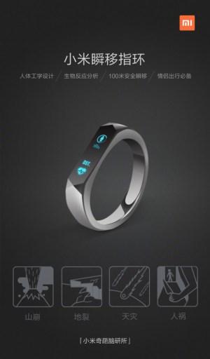 ¿Es esta la nueva smartband de Xiaomi?