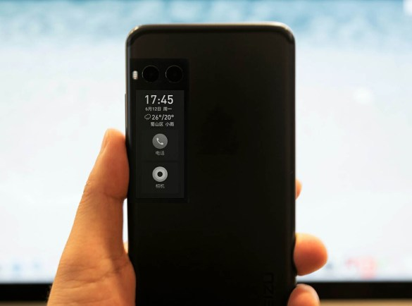 smartphone con doble pantalla