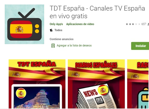 TV España – TDT