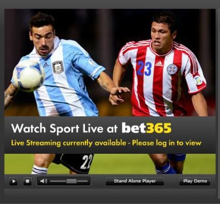 Ver fútbol en las casas de apuestas online