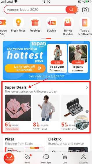 las mejores ofertas en AliExpress