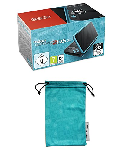New Nintendo 2DS XL (negro y turquesa)
