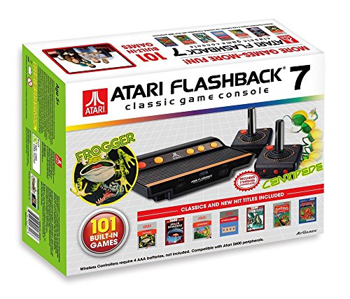 AT-Games - Consola Retro Atari Flashback 7 (101 Juegos)