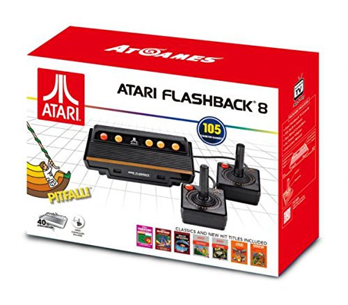 AT-Games - Consola Retro Atari Flashback 8 (105 Juegos)