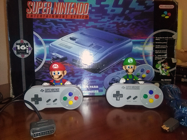 mandos snes mini